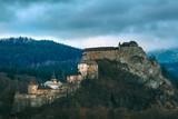 Panoramic view of the fairytale Castle in Oravský Podzámok Slovakia