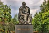 Hviezdoslav monument in Bratislava, Slovakia