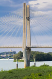 pont de Beaucaire-Tarascon sur le Rhône, France