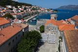 Korcula, a historic fortified town on the Adriatic island of Korcula in Croatia - 230085364
