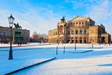 Dresden im Winter, Deutschland - 230103143