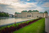 Gardens of the Belvedere Palace in Vienna, Austria - 230113554