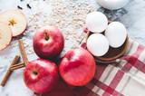 baking ingredients for apple crisp - 230127334