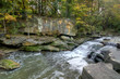 Beautiful Berea Falls In Autumn - 230141112