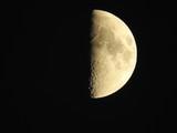 Moon, night sky, nature