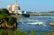 Reversing rapids in Canada