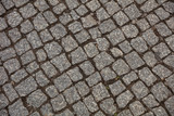 Top view of cobblestone street, background. - 230168319