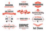 Vintage Retro Vector Logo for banner - 230175120
