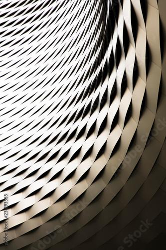 Fridge magnet Modern architecture detail