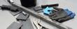Schweißertisch mit Werkzeug und Schweißgerät 20