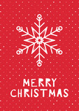 Retro styled christmas card - 230214707