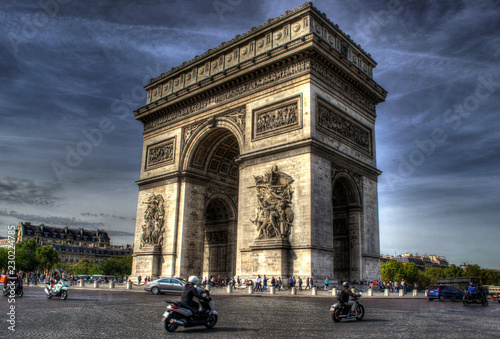 Triumphal Arch in Paris