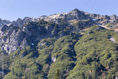 Rocks in Tatra mountains in Poland in autumn - 230238395