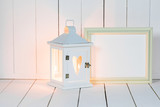 Lantern and picture frame - 230253307