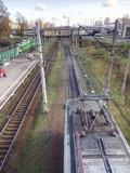 train pantographs
