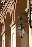 lampione nel palazzo reale a torino in piemonte in italia - 230257753