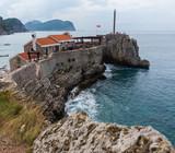 Ancient fortress Castello in Petrovac na Moru, Montenegro - 230287778