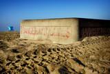 fire pit on beach sand - 230298163