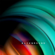 Background abstract - liquid color wave
