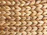 Wicker background and woven pattern texture.