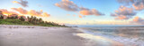 Sunrise over the white sand of Vanderbilt Beach in Naples - 230336796
