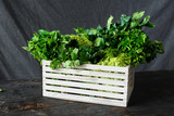 Box freshly home crop harvesting concept - 230361126