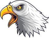 Cartoon Eagle head mascot - 230365741