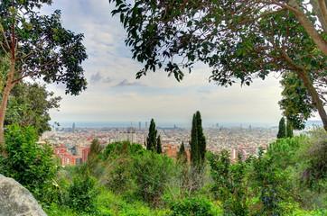Barcelona landmarks, Spain