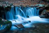 waterfall on mountain river - 230421357