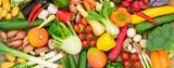 fresh vegetables from market