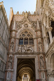 the Dodge duke palace entrace in the city of Venice in Italy