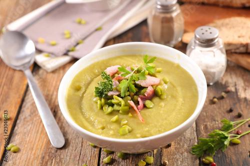 Foto Murales dry pea soup