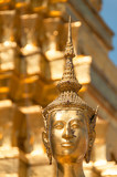 Statue of a buddha in the Grand Palace of Bangkok, Kingdom of Thailand. South East Asia. - 230451168