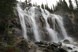 Tangle Creek Falls in Jasper National Park, Alberta, Canada