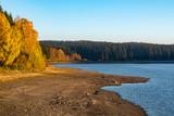 autumn landscape at a lake - 230455125
