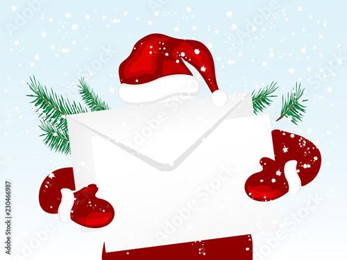 Christmas envelope - 230466987
