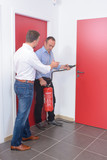 fire extinguisher drill - 230471739