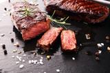 Barbecue Rib Eye Steak or rump steak - Dry Aged Wagyu Entrecote Steak - 230518739