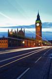 London Night Big Ben Trails
