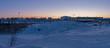 Sunrise at Inuvik