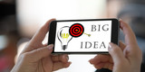 Big idea concept on a smartphone - 230594376