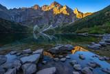 Alpine lake in Tatras, Morskie Oko, Poland - 230595586