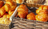 Fresh pastries for sale in the market - 230597362