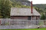 September 13 2018, Skagway Alaska. Old historic house of the gold rush in Skagway, Alaska. - 230615598