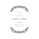 Wedding Invitation Design Template - 230661547
