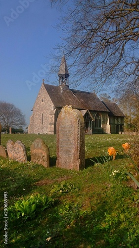 All Saints Church in Crowfield, Suffolk, UK - 230665993