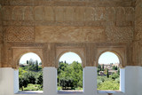 Alhambra Palace - medieval moorish castle in Granada, Andalusia, Spain - 230667321