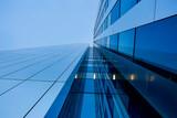 Struktur, moderne Hochhausfassade - 230667753