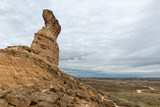 Tozal de la Cobeta sandstone, Monegros in Huesca, Spain - 230675593