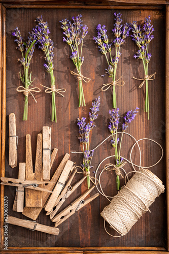 Aromatic and pleasant lavender preparation for home drying - 230683373